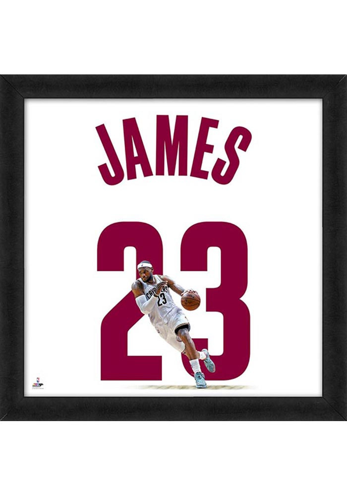 Cleveland Cavaliers 20x20 Uniframe Framed Posters - Image 1