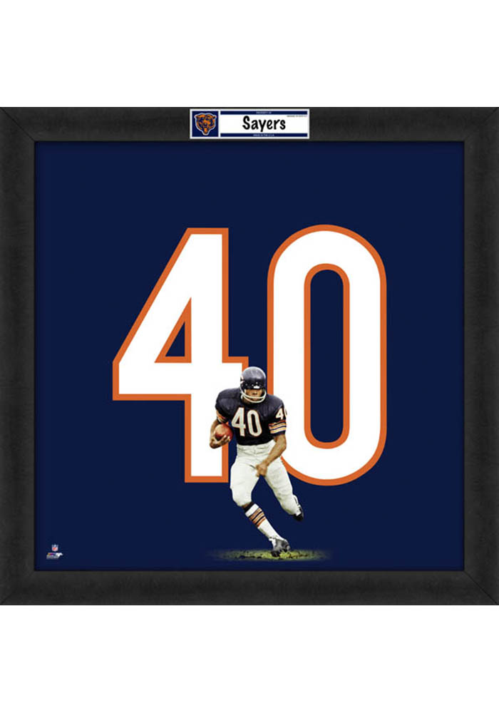 Chicago Bears 20x20 Uniframe Framed Posters - Image 1