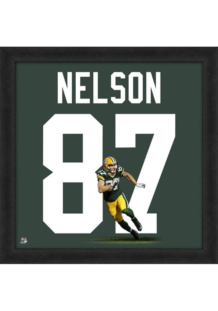 Green Bay Packers 20x20 Uniframe Framed Posters - Image 1
