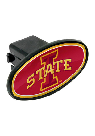 Iowa State Cyclones Plastic Oval Car Accessory Hitch Cover
