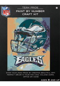 Philadelphia Eagles Paint By Number Craft Kit Puzzle