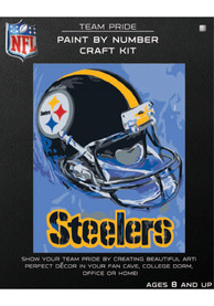 Pittsburgh Steelers Paint By Number Craft Kit Puzzle