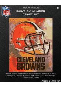 Cleveland Browns Paint By Number Craft Kit Puzzle