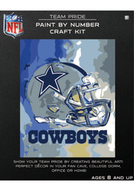 Dallas Cowboys Paint By Number Craft Kit Puzzle