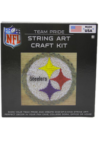 Pittsburgh Steelers String Art Craft Kit Puzzle