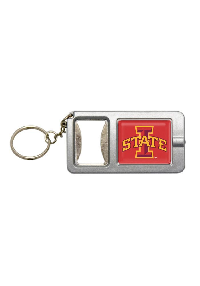 iowa state cyclones bottle opener flash light keychain 16379082. Black Bedroom Furniture Sets. Home Design Ideas