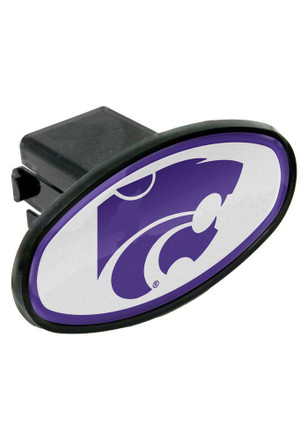 K-State Wildcats Plastic Oval Car Accessory Hitch Cover