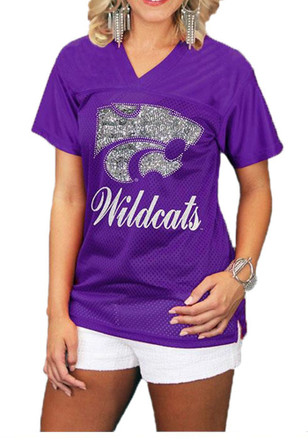 Gameday Couture K-State Wildcats Womens Purple Fashion Football Jersey