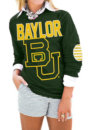 Gameday Couture Baylor Womens Green T-Shirt