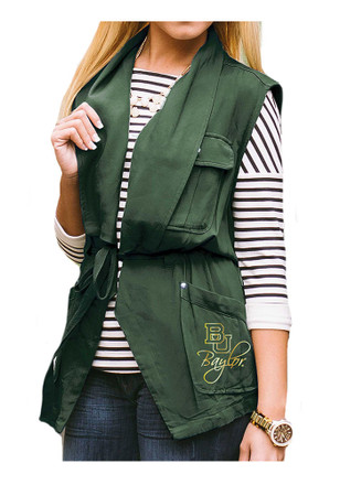 Gameday Couture Baylor Bears Womens Green About Face Vest
