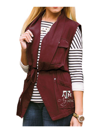 Gameday Couture Texas A&M Womens Maroon About Face Vest