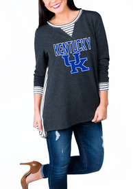Gameday Couture Kentucky Wildcats Womens Charcoal Youll Be Back Womens Crew