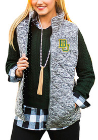 Baylor Bears Womens Gameday Couture City Chic Vest - Grey