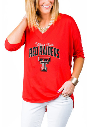 Gameday Couture Texas Tech Red Raiders Womens Red Weekender T-Shirt