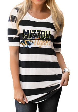 Gameday Couture Missouri Tigers Womens Spotlight Black T-Shirt