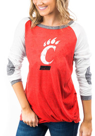 Cincinnati Bearcats Womens Gameday Couture Best In The Game T-Shirt - Red