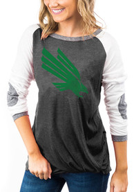North Texas Mean Green Womens Gameday Couture Best In The Game T-Shirt - Black