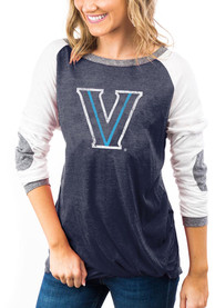 Villanova Wildcats Womens Gameday Couture Best In The Game T-Shirt - Navy Blue