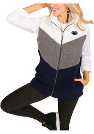 Gameday Couture Penn State Nittany Lions Womens Navy Blue On Point Vest