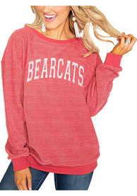 Cincinnati Bearcats Womens Gameday Couture Its a Date Crew Sweatshirt - Red