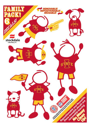 Iowa State Cyclones Decal