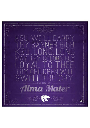 K-State Wildcats Fight Song Trivet