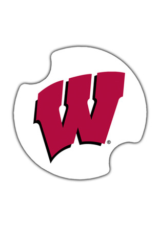 Wisconsin Badgers 2 Pack Auto Car Coaster