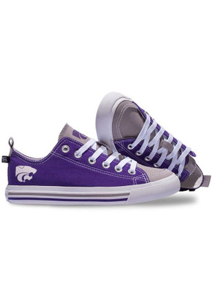 K-State Wildcats Purple Low Top Mens Shoes