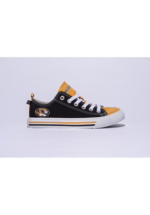 Missouri Tigers Yellow Low Top Mens Shoes