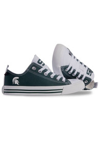 Michigan State Spartans Low Top Shoes - Green