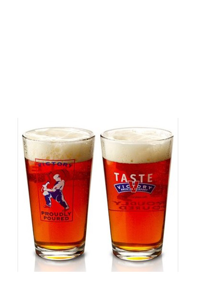 Victory Brewing Logo Pint Glass - Image 1