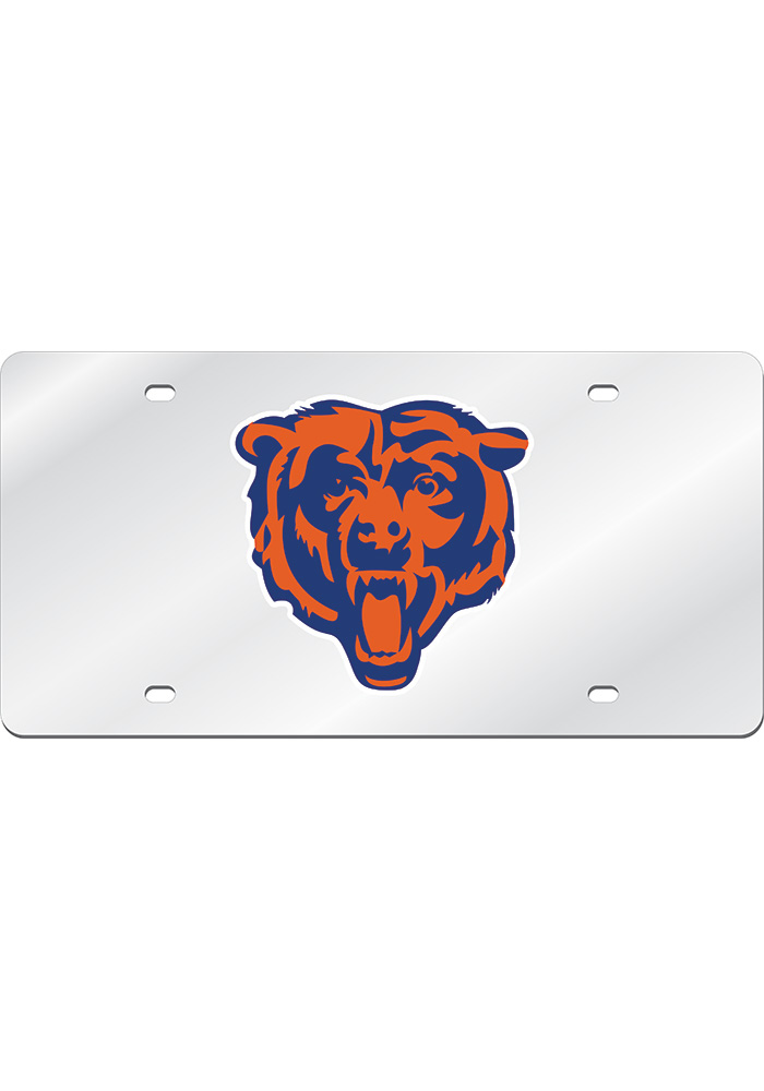 Chicago Bears Mirror Car Accessory License Plate - Image 1