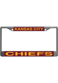 Kansas City Chiefs Mirror License Frame