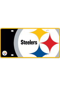Pittsburgh Steelers Mega Car Accessory License Plate