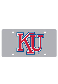 Kansas Jayhawks Retro KU Car Accessory License Plate