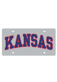 Kansas Jayhawks Arched Kansas Car Accessory License Plate
