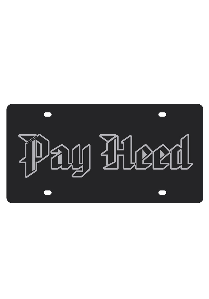 Kansas Jayhawks Pay Heed on Black Car Accessory License Plate - Image 1