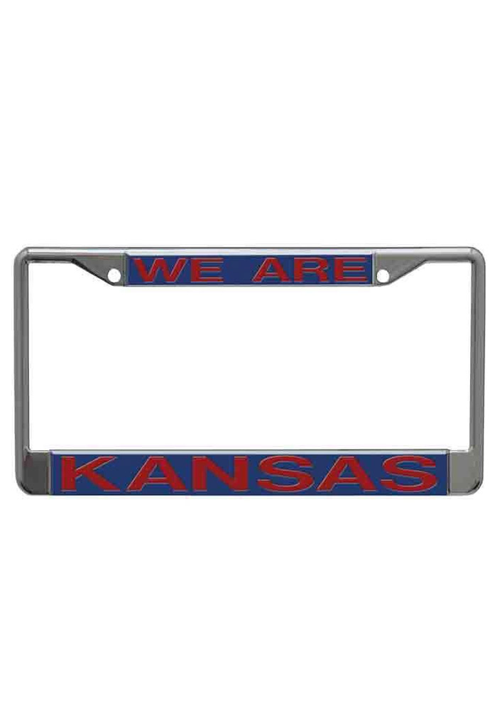 Kansas Jayhawks We Are Kansas License Frame