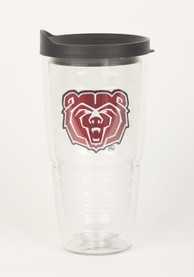 Missouri State Bears 24oz Lid Clear Tumbler