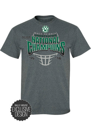 Northwest Mo State Bearcats Mens Grey National Championship Tee