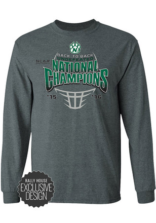 Northwest Mo State Bearcats Mens Grey National Champions Tee