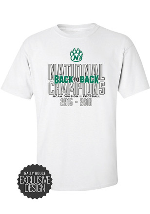 Northwest Mo State Bearcats Mens White National Championship Tee