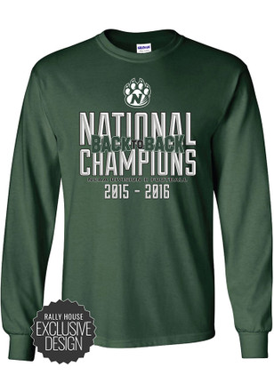 Northwest Mo State Bearcats Mens Green National Championship Tee