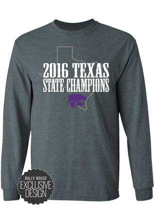 K-State Wildcats Mens Grey Champions Tee