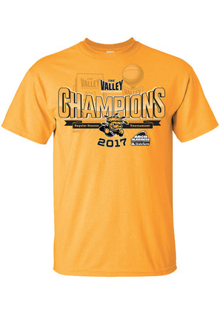 WSU Mens Gold 2017 MVC Tournament Champions Tee