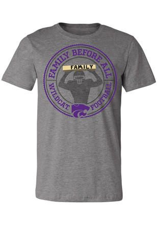 K-State Wildcats Mens Grey Family Tee