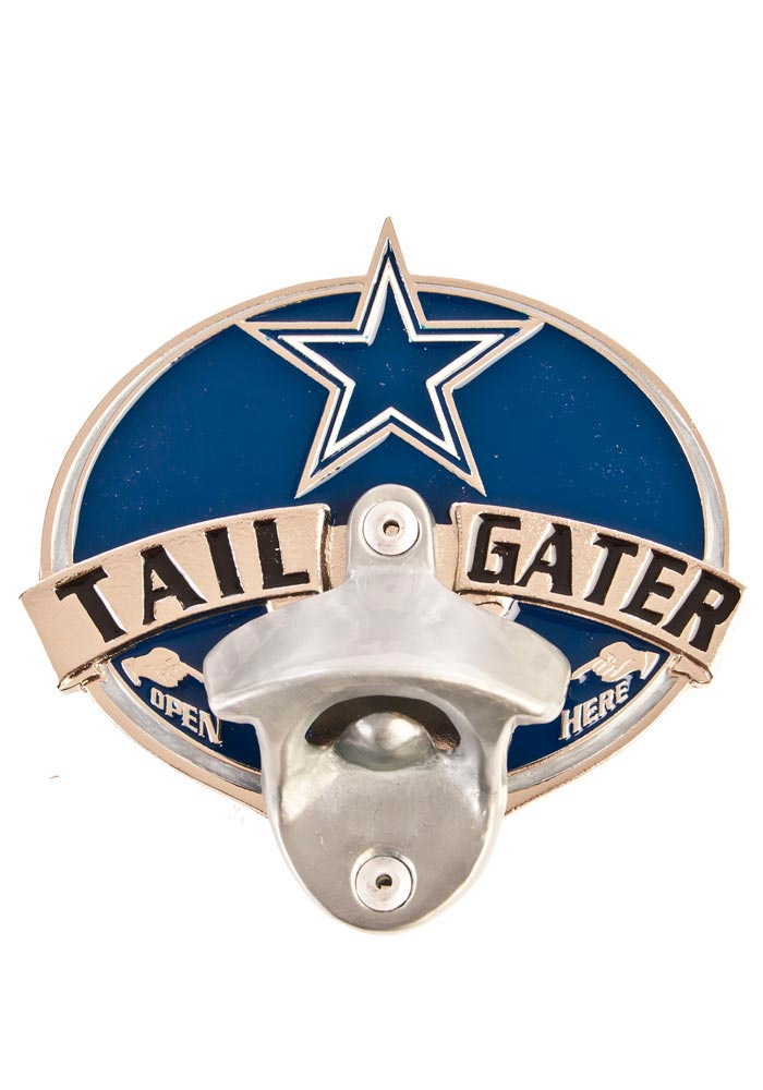 Dallas Cowboys Tail Gater Car Accessory Hitch Cover - Image 1