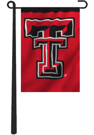 Texas Tech Red Raiders 13x18 Red, Black 2 Sided Garden Flag