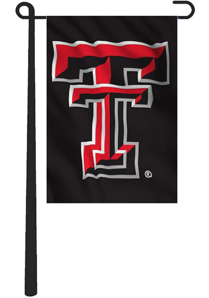 Texas Tech Red Raiders 13x18 Red, Black 2 Sided Garden Flag - Image 2