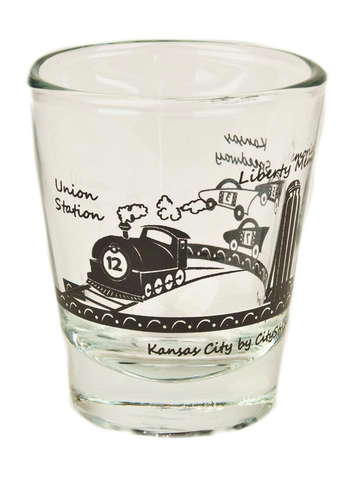 Kansas City Landmark Shot Glass
